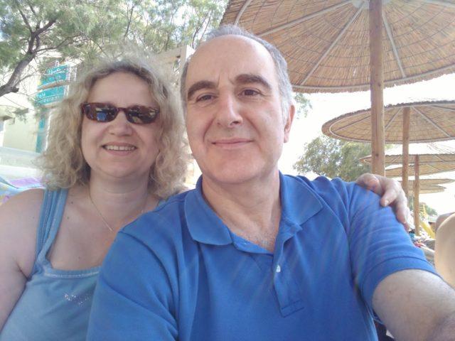 Am Strand von Perea