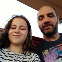 Melina mit Panagiotis